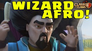 Clash of Clans: WIZARD AFRO! (Wizard Limited Time Event Update!)