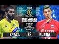 Brazil vs. Russia | Highlights | Final 6 Mens World Championship 2018