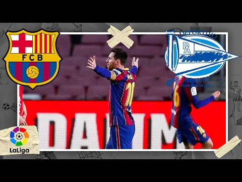 Barcelona vs Alavés   LALIGA HIGHLIGHTS   2/13/2021   beIN SPORTS USA
