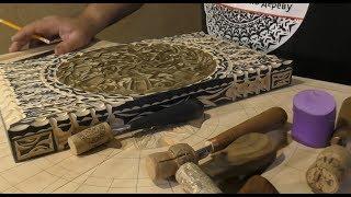 Нарды ручной работы из дерева, обзор. Резные нарды своими руками видео
