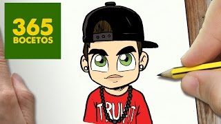 COMO DIBUJAR AUSTIN MAHONE KAWAII PASO A PASO - Dibujos kawaii faciles - How to draw a Austin Mahone