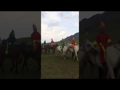 Local Naadam horse race with True Mongolia travel