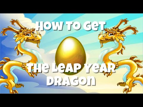 Dragonvale How To Get The Leap Year Dragon