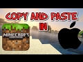 COPY AND PASTE IN MCPE FOR ALL IOS