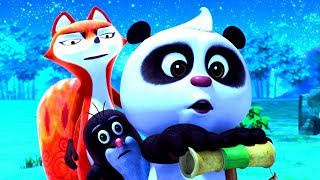 Веселые мультики - Кротик и Панда - Любимые серии подряд - Сборник для детей