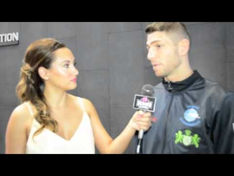 MICHELLE JOY PHELPS INTERVIEWS BRIAN ROSE FOR iFL TV AHEAD ...