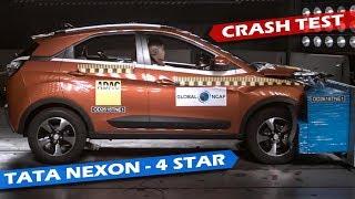 Tata Nexon - India's Safest Compact SUV   4 Stars in Crash Test