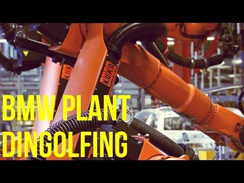 BMW Plant Dingolfing - KUKA robots
