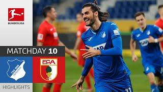 #tsgfca   highlights from matchday 10!► sub now: https://redirect.bundesliga.com/_bwcs watch the bundesliga of tsg hoffenheim vs. fc augsburg from...