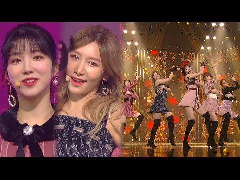 LABOUM(라붐) - Turn It On(불을 켜) @인기가요 Inkigayo 20190120
