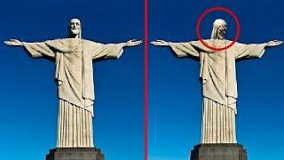 7 Estatuas de Jesús Moviéndose Captados en Vídeo
