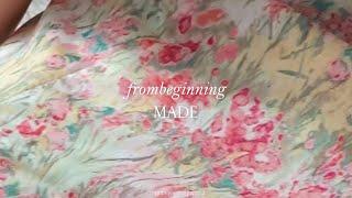 프롬비기닝, 시선  [MADE] 플로럴 퍼프미니원피스