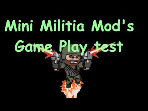 mini militia hackeado