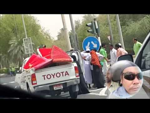 CAR ACCIDENT  Madinat Zayed Western Region