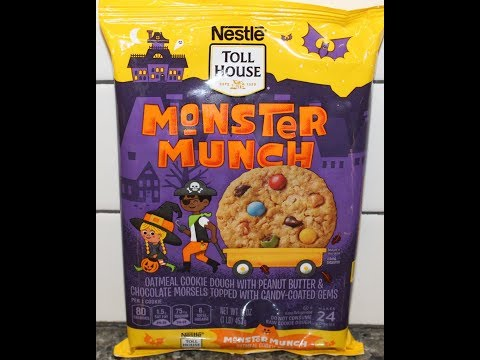 Nestle Toll House Monster Munch Cookie Review