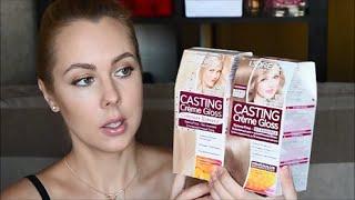 Отзыв. Осветление волос дома с краской L'Oreal Casting Creme Gloss / 810 и 1021