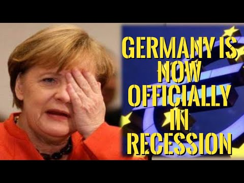 👉Germany is Now Officially in Recession -- Eurozone Economic Collapse !!