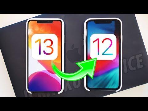 How to Downgrade iOS 13 to iOS 12 (Any Beta)