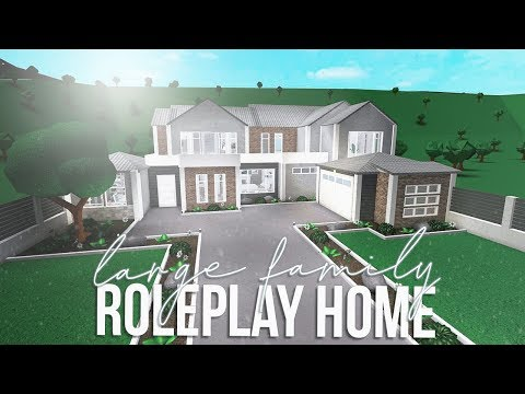 ROBLOX | Bloxburg: Large Family Roleplay Home 123k