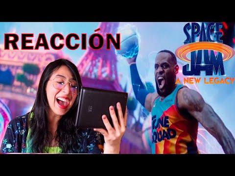 ???? REACCIÓN Tráiler SPACE JAM New Legacy   EL CROSSOVER MAS ESPERADO del 2021
