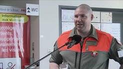 Une trentaine d'astreints de la PC a rejoint des militaires à l'Hôpital intercantonal de Payerne