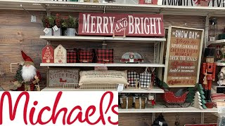 MICHAELS CHRISTMAS DECOR!!! 60% OFF | SHOP WITH ME! HOLIDAY EDITION!