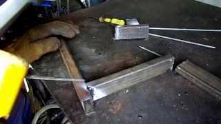Как быстро сварить трубопрофиль.(Попытался показать быстрый способ сварки тонкого металла., 2015-07-01T09:38:24.000Z)