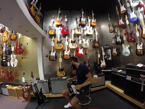 LOS ANGELES GUITAR CENTER TOUR