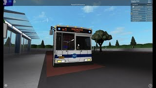 NTA - Orion 07.501 VII CNG - Route N9 South Ozone Pk - Cedar Lane (Roblox)