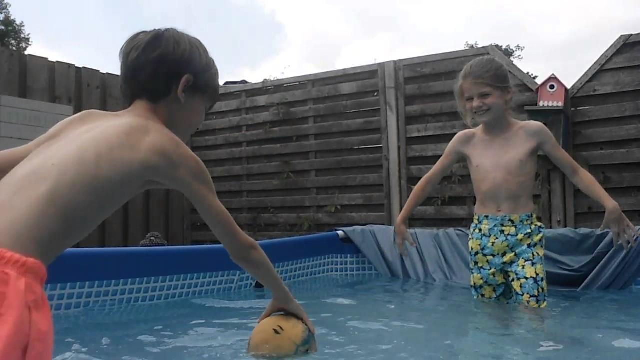 Zwemmen met mijn vriendinnetje