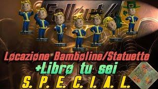 fallout 4 locazione di tutte le bamboline statuette special libro guida alle bobbleheads