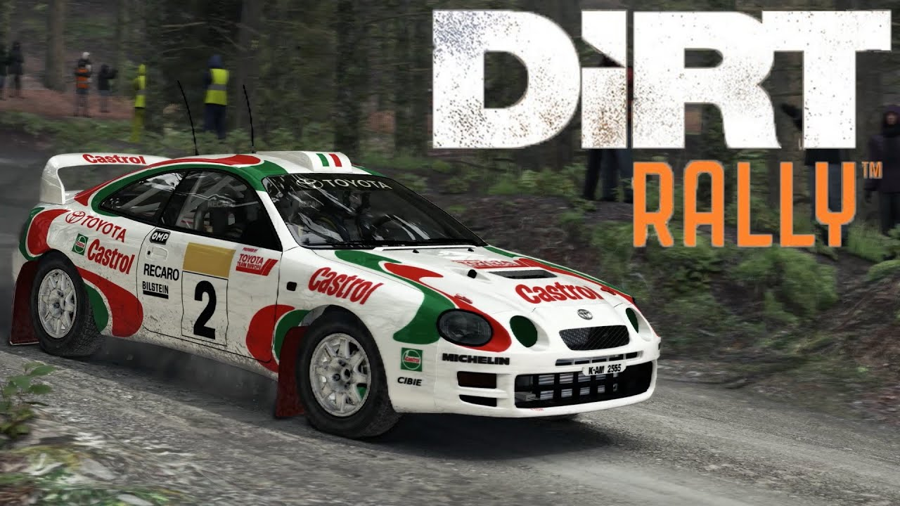 Dirt Rally Toyota Celica GT-Four ST205 Wales 1080p 60fps - YouTube