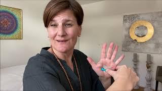 Reflexologische Handmassage für die Stärkung des Immunsystems