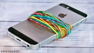 10 Awesome Rubber Band Life Hacks