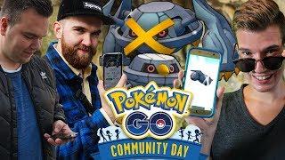 Wer bekommt die MEISTEN SHINYS 😍 Pokémon Go Community Day