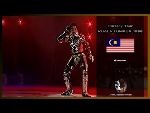 Michael Jackson - Scream - Live Kuala Lumpur 1996 - HD
