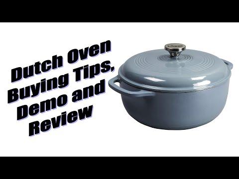 Lodge Enamel Dutch Oven Buying Tips And Demo