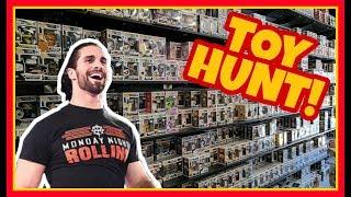 🚨 TOY HUNT!!! 🚨 SETH ROLLINS WINS A SLAMMY AWARD! WWE Mattel Wrestling Figure Shopping Fun #90