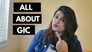 What is GIC?? All About GIC! | Indian Student Abroad || thatsosnneha