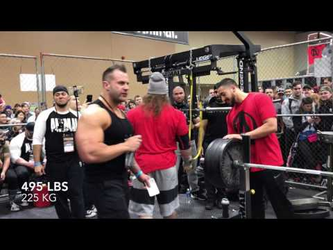Dan Green -- 545 Bench with Feet Up in the Animal Cage
