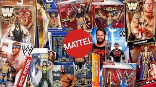 How Many WWE Superstars Have Mattel Made Figures Of??? Final Part