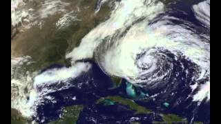 Hurricane Sandy Space View - From Start To Finish | Video