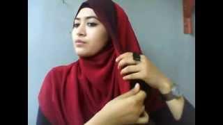 Repeat youtube video tutorial jilbab nike