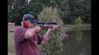 Shooting the .300 Weatherby Magnum for the first time.