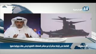 د.المطوع: هناك تصعيد وتكابر قطري في الخطاب السياسي والإعلامي المضلل والكاذب في قناة الجزيرة