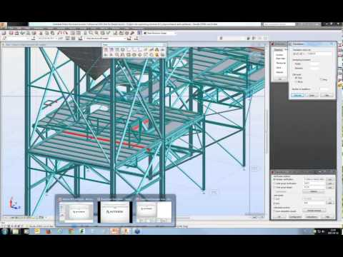 3. Steel Design - How to build the model and assign design parameters
