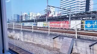 122.特急スーパーあずさ19号松本行き,新宿駅発車後車内放送