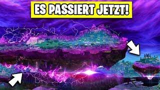 Das FINALE ist erreicht 😱 Fliegende Insel Live Event  | Fortnite Season 6 Deutsch German