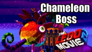 THE LEGO MOVIE 2 VIDEOGAME 2019 - Chameleon Boss Fight