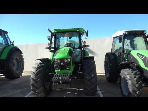 The 2021 DEUTZ FAHR 5110G Tractor Walkaround